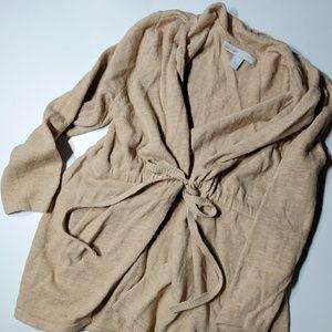 Old Navy Camel Tan Tie Waist Cardigan Size XS EUC